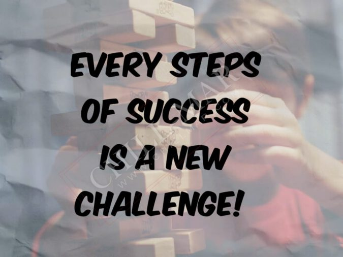 every steps of success