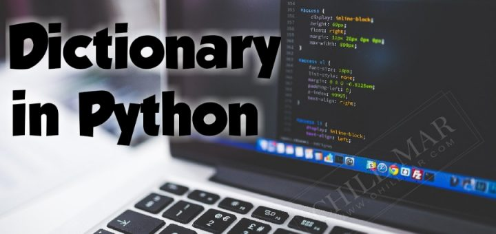 Popular Dictionary Program in Python for Beginner