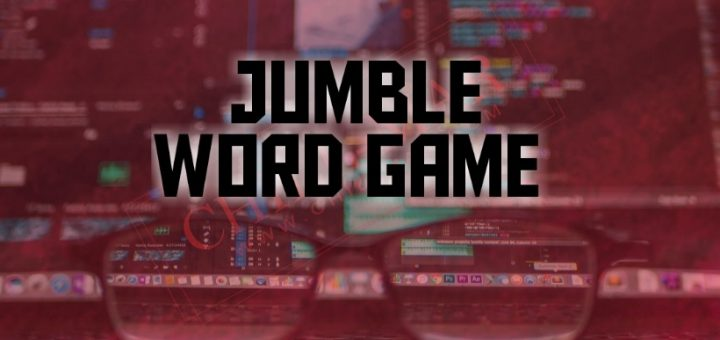 Source Code of Jumble Word Game in Android