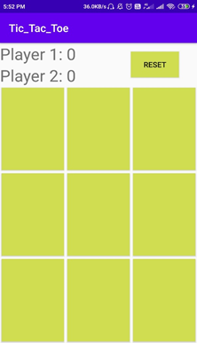 Easy Source Code of Awesome Tic Tac -Toe Game App